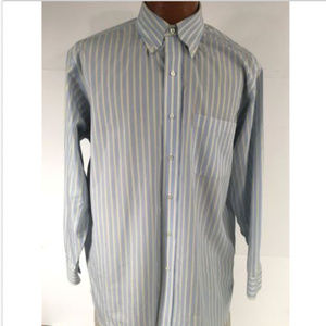 Brooks Brothers Shirt Sz 16-2/3 Button Front Shirt